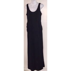 Gap Maternity Black Maxi Dress Small